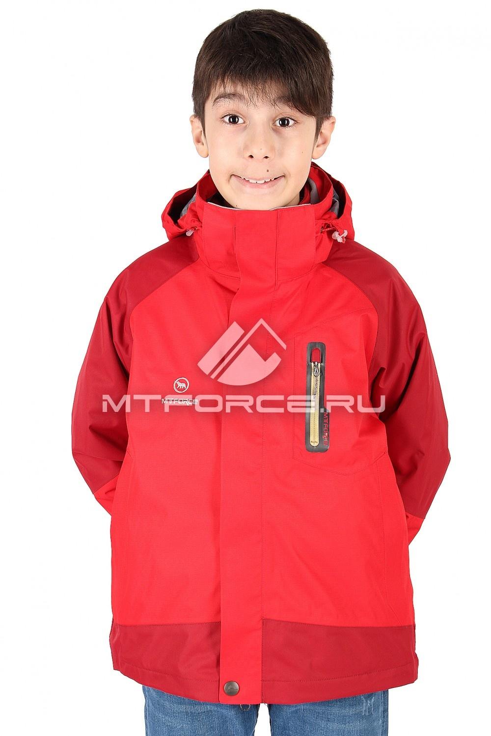Купить                                  оптом Куртка мальчик три в одном красного цвета B01Kr