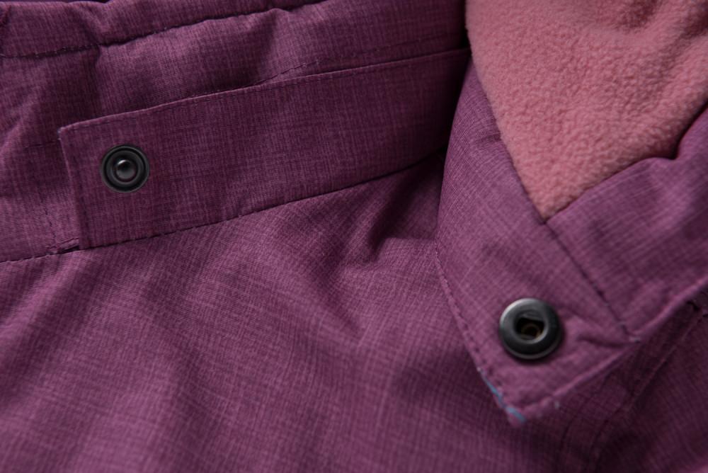 Купить оптом Горнолыжный костюм подростковый для девочки фиолетового 8932F в Санкт-Петербурге