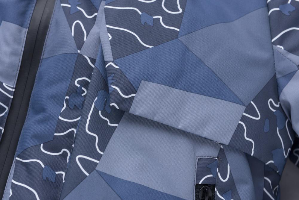 Купить оптом Горнолыжный костюм подростковый для мальчика цвета хаки 8923Kh в Санкт-Петербурге