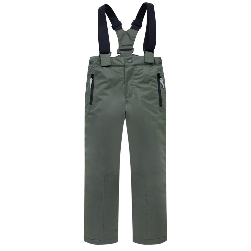 Купить оптом Горнолыжный костюм подростковый для мальчика цвета хаки 8923Kh в Волгоградке