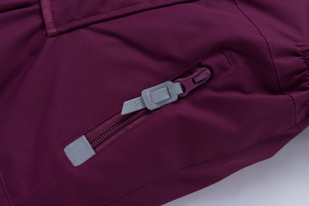 Купить оптом Горнолыжный костюм детский фиолетового цвета 8912F в Перми