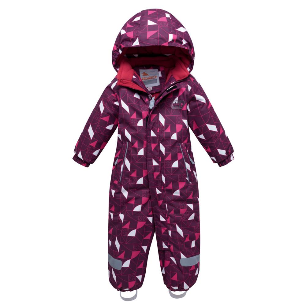 Купить оптом Комбинезон детский малинового цвета 8902M в Перми
