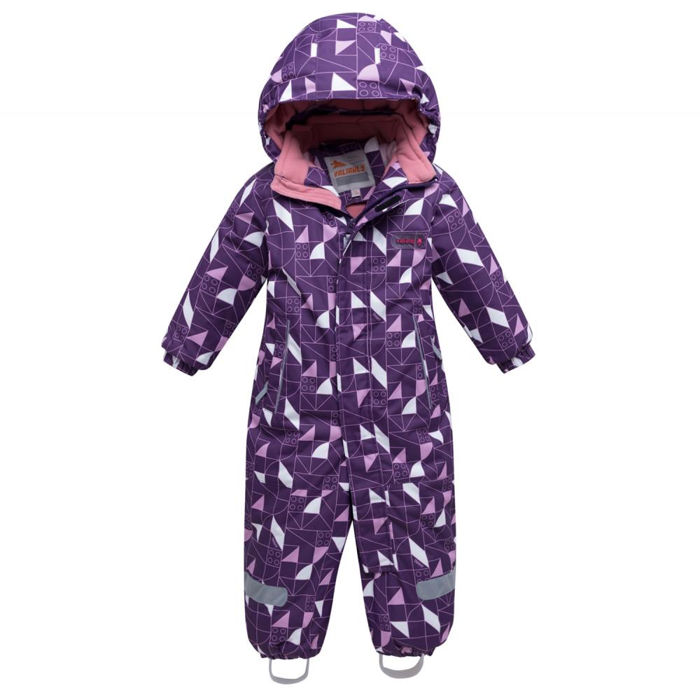 Купить оптом Комбинезон детский фиолетового цвета 8902F в  Красноярске