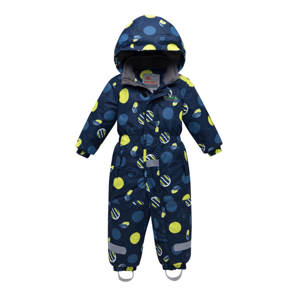 Купить оптом Комбинезон для мальчика зимний желтого цвета 8905J в Екатеринбурге