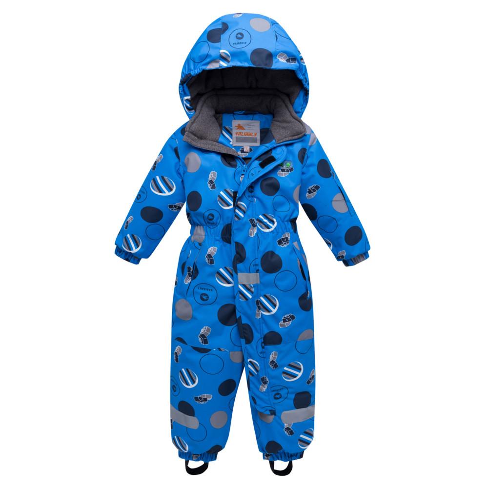 Купить оптом Комбинезон для мальчика зимний синего цвета 8905S в Нижнем Новгороде