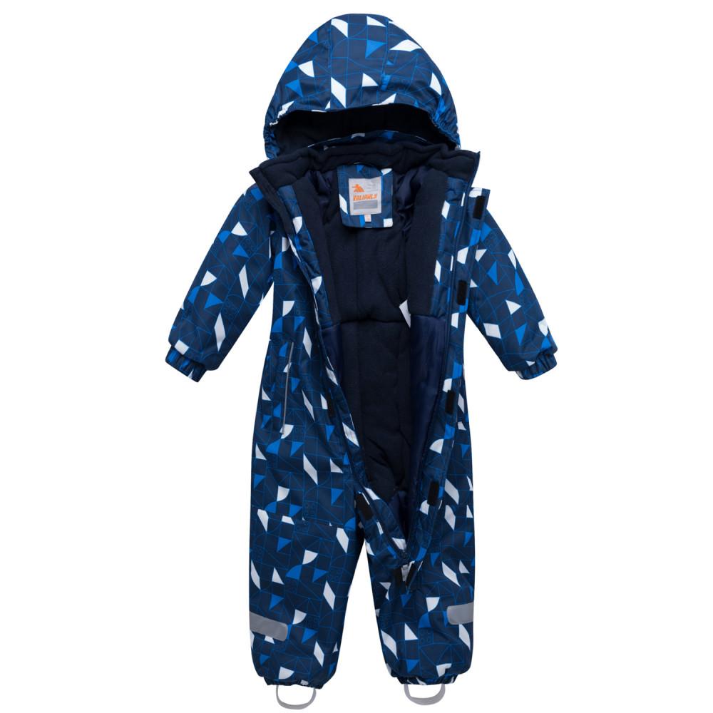 Купить оптом Комбинезон детский темно-синего цвета 8901TS в Волгоградке