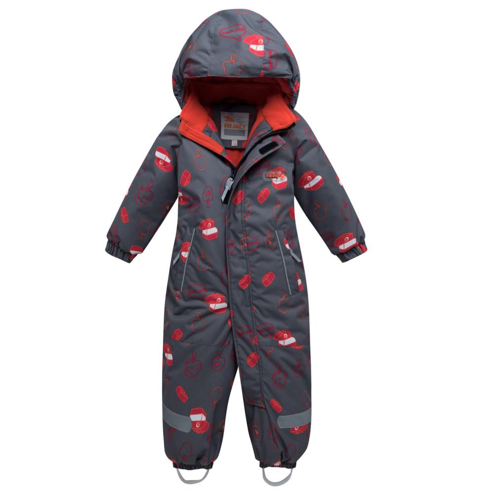 Купить оптом Комбинезон детский темно-серого цвета 8903TС в Нижнем Новгороде