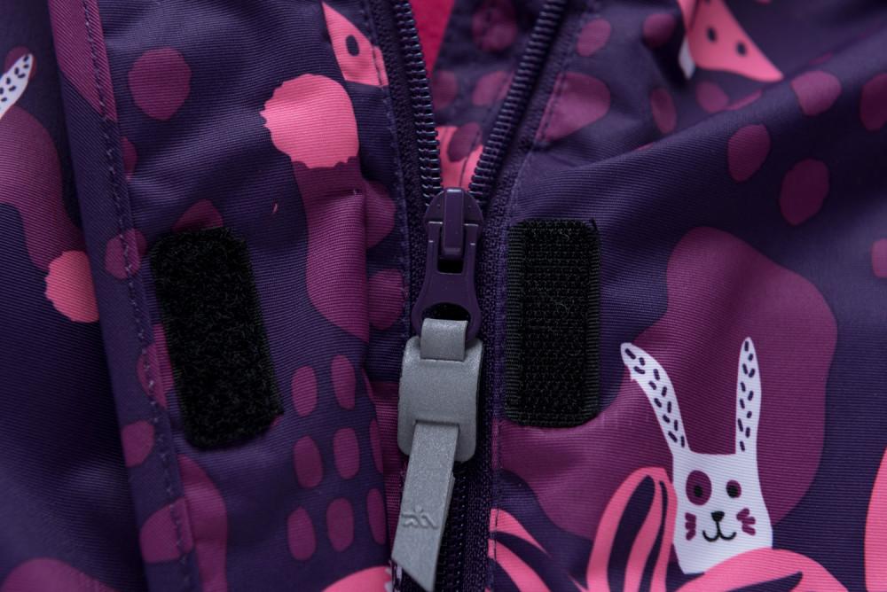 Купить оптом Горнолыжный костюм для ребенка фиолетового цвета 8928F в Сочи