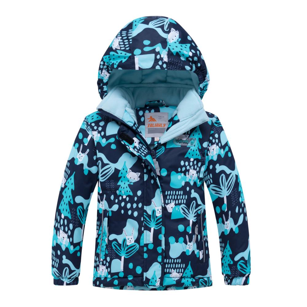 Купить оптом Горнолыжный костюм для ребенка синего цвета 8928S в Волгоградке