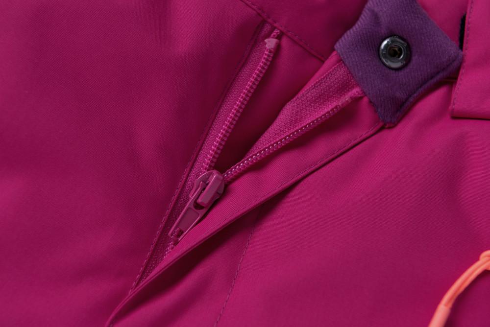 Купить оптом Горнолыжный костюм подростковый для девочки малинового цвета 8916M в Казани