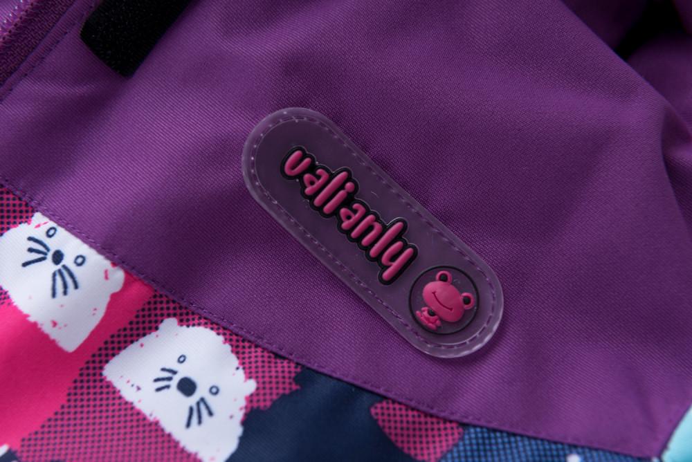 Купить оптом Горнолыжный костюм для ребенка фиолетового цвета 8926F в Казани