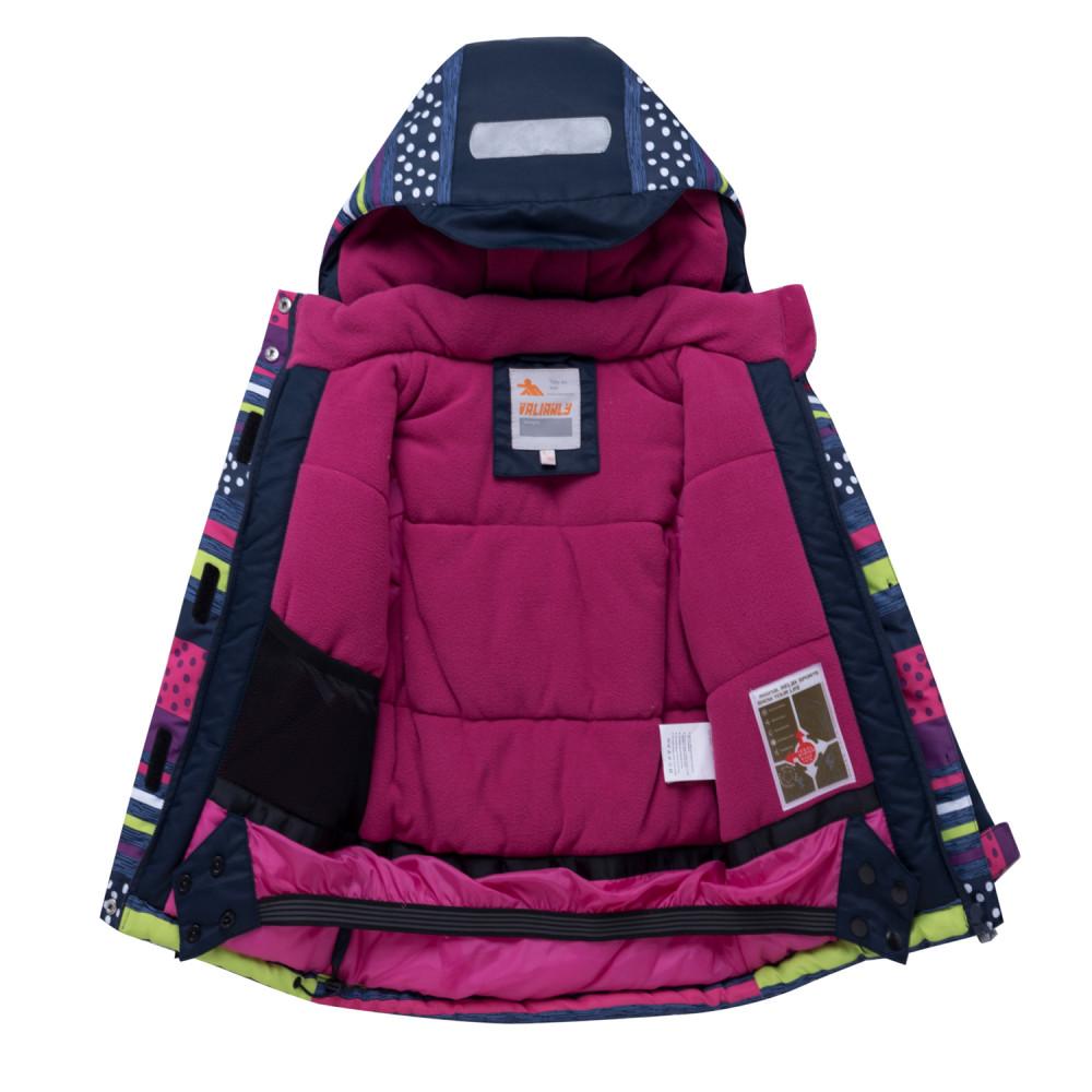 Купить оптом Горнолыжный костюм подростковый для девочки темно-фиолетового 8930TF в Казани