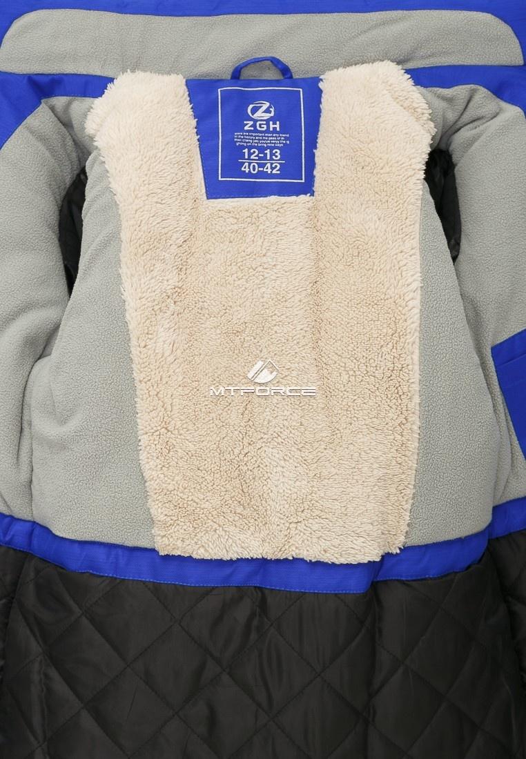 Купить оптом Куртка парка зимняя подростковая для девочки розового цвета G27R