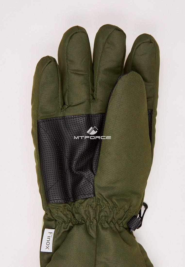 Купить оптом Перчатки подростковые горнолыжные бежевого цвета CV-94B