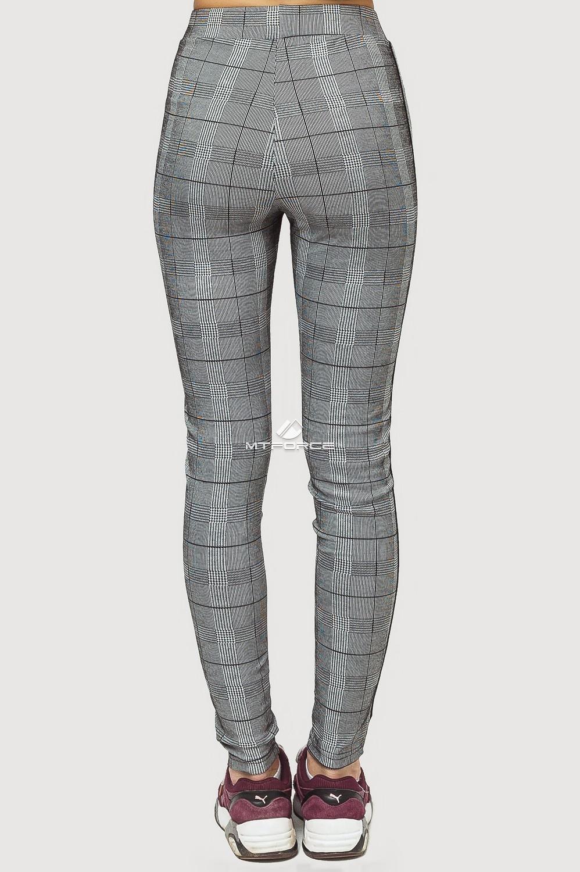 Купить оптом Брюки женские классические серого цвета 199Sr в Перми