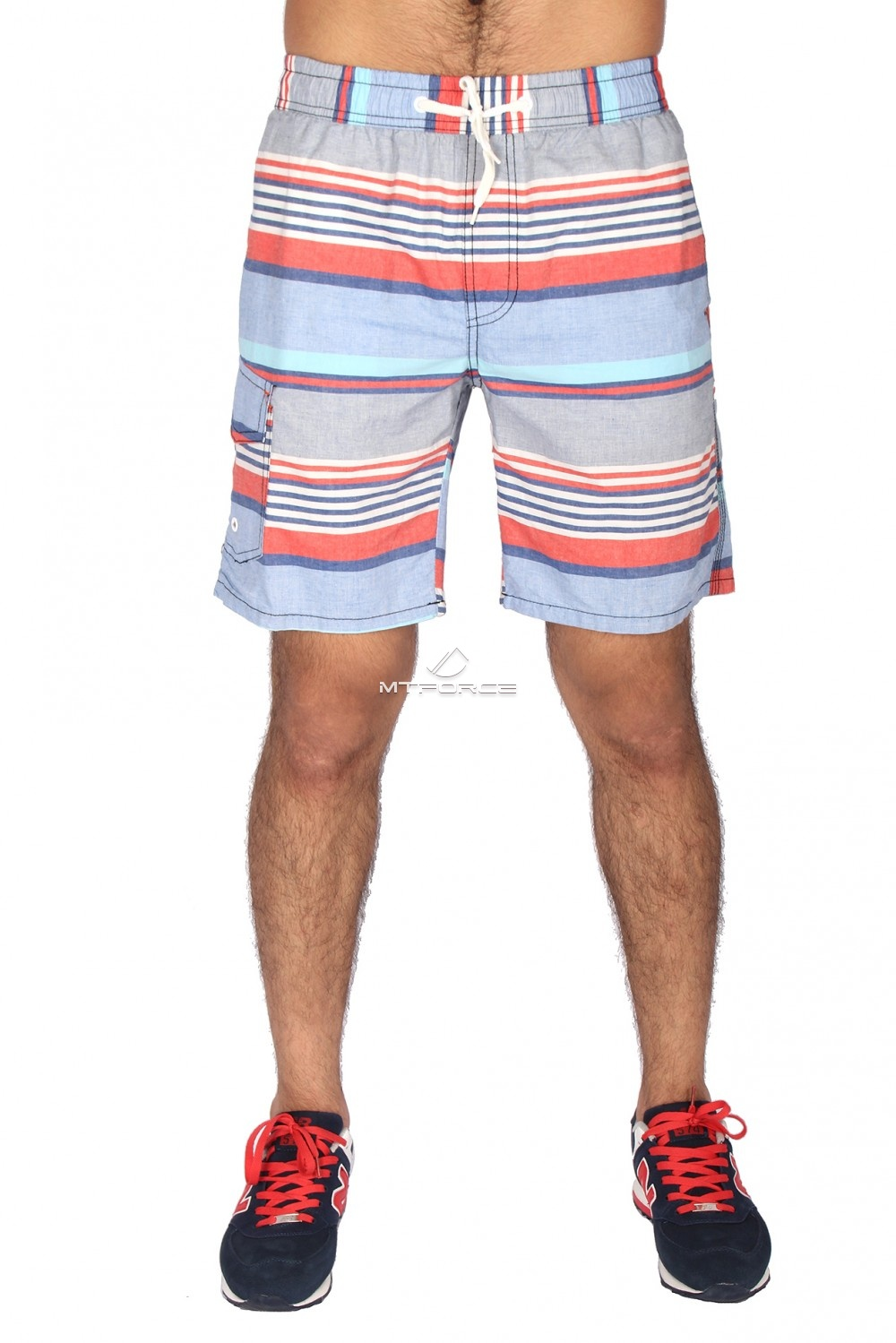 Купить оптом Спортивные шорты красного цвета S11Kr в Казани