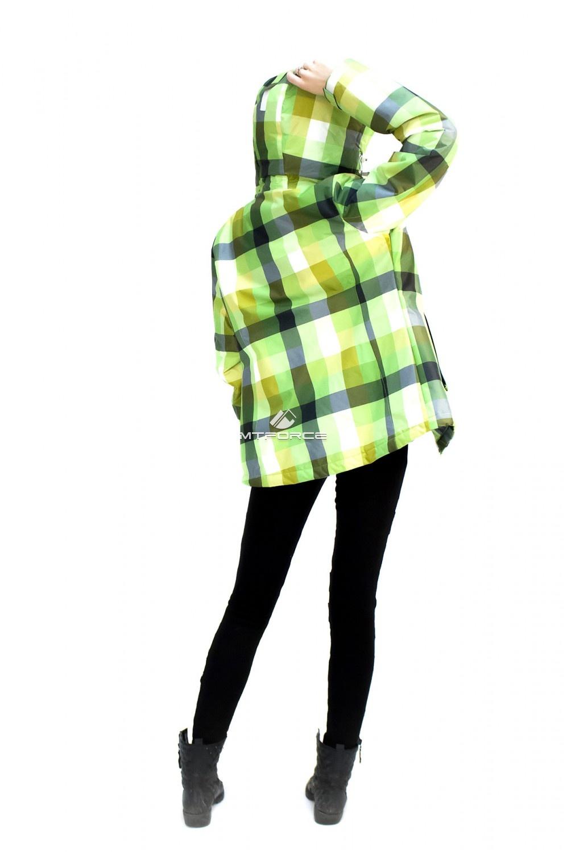 Купить оптом Куртка спортивная женская осень весна салатового цвета 17211Sl в Самаре