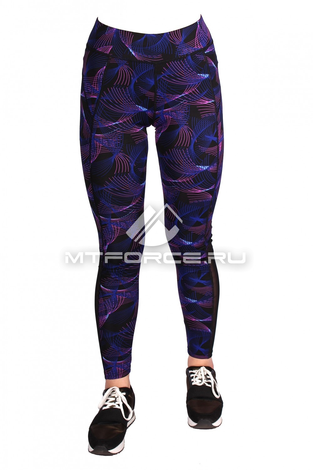 Купить  оптом Брюки легинсы женские фиолетового цвета M-28F