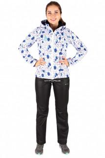 Интернет магазин MTFORCE.ru предлагает купить оптом костюм виндстопер женский белого цвета 01514Bl по выгодной и доступной цене с доставкой по всей России и СНГ
