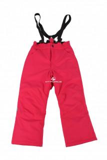 Купить оптом брюки горнолыжные подростковые розового цвета 016R в интернет магазине MTFORCE.RU