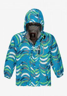 Купить оптом куртку демисезонную подростковую для мальчика синего цвета 017-1S в интернет магазине MTFORCE.RU
