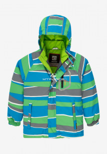 Купить оптом куртку демисезонную подростковую для мальчика зеленого цвета 017Z в интернет магазине MTFORCE.RU