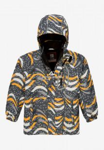 Купить оптом куртку демисезонную подростковую для мальчика темно-серого цвета 017TC в интернет магазине MTFORCE.RU