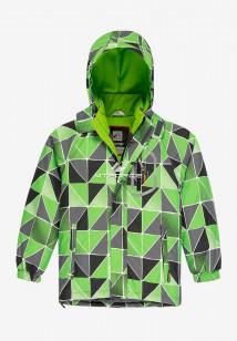 Купить оптом куртку демисезонную подростковую для мальчика салатового цвета 017Sl в интернет магазине MTFORCE.RU