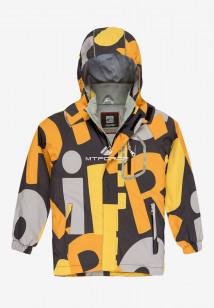 Купить оптом куртку демисезонную подростковую для мальчика оранжевого цвета 017O в интернет магазине MTFORCE.RU