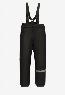 Купить оптом брюки подростковые демисезонные для мальчика черного цвета 018Ch в интернет магазине MTFORCE.RU