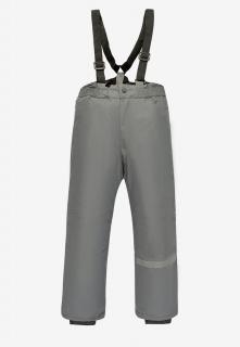 Купить оптом брюки подростковые демисезонные для мальчика серого цвета 018Sr в интернет магазине MTFORCE.RU