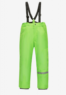 Купить оптом брюки подростковые демисезонные для девочки салатового цвета 018Sl в интернет магазине MTFORCE.RU