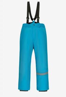 Купить оптом брюки подростковые демисезонные для девочки голубого цвета 018Gl в интернет магазине MTFORCE.RU