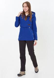 Спортивный костюм женский осенний весенний темно-синего цвета купить оптом в интернет магазине MTFORCE 01914TS