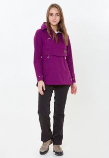 Спортивный костюм женский осенний весенний фиолетового цвета купить оптом в интернет магазине MTFORCE 01914F