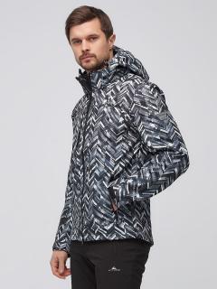Спортивный костюм мужской осенний весенний softshell светло-серого цвета купить оптом в интернет магазине MTFORCE 01915SS