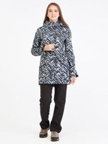 Спортивный костюм женский осенний весенний softshell темно-серого цвета купить оптом в интернет магазине MTFORCE 019221TC