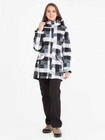 Спортивный костюм женский осенний весенний softshell серого цвета купить оптом в интернет магазине MTFORCE 019221Sr