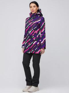 Спортивный костюм женский осенний весенний softshell фиолетового цвета купить оптом в интернет магазине MTFORCE 019221F