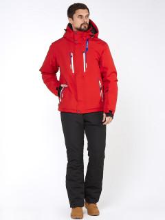 Горнолыжный костюм мужской зимний красного цвета купить оптом в интернет магазине MTFORCE 01966Kr