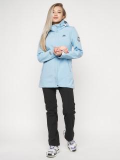 Купить оптом женскую осеннюю весенний костюм softshell в интернет магазине MTFORCE 20371Gl