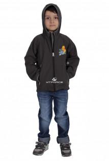 Куртка ветровка детская темно--серого цвета 034-1TC в интернет магазине MTFORCE.RU