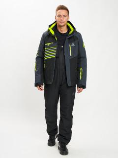 Купить горнолыжный костюм мужской оптом от производителя в Москве дешево 077012Ch