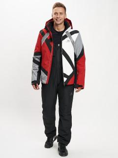 Купить горнолыжный костюм мужской оптом от производителя в Москве дешево 077015Kr