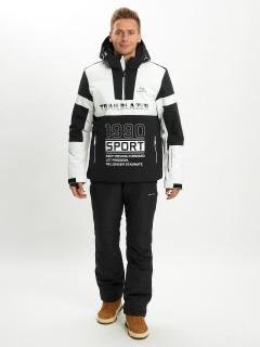 Купить горнолыжный костюм анорак мужской оптом от производителя в Москве дешево 077024Bl