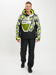 Купить горнолыжный костюм анорак мужской оптом от производителя в Москве дешево 077027Z