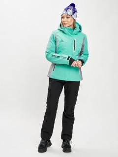 Купить горнолыжный костюм женский оптом от производителя в Москве дешево 077034Br