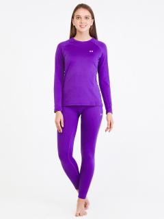 Термобелье фиолетового цвета купить оптом в интернет магазине MTFORCE 08932F