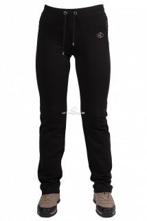 Купить оптом брюки трикотажные женские черного цвета 09Ch в интернет магазине MTFORCE.RU