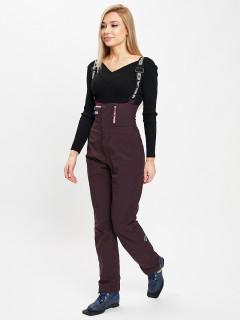 Купить  брюки горнолыжные женские оптом от производителя дешево в Москве 102TF